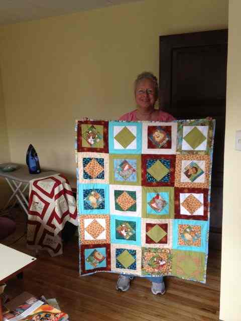 new grandson's crib quilt